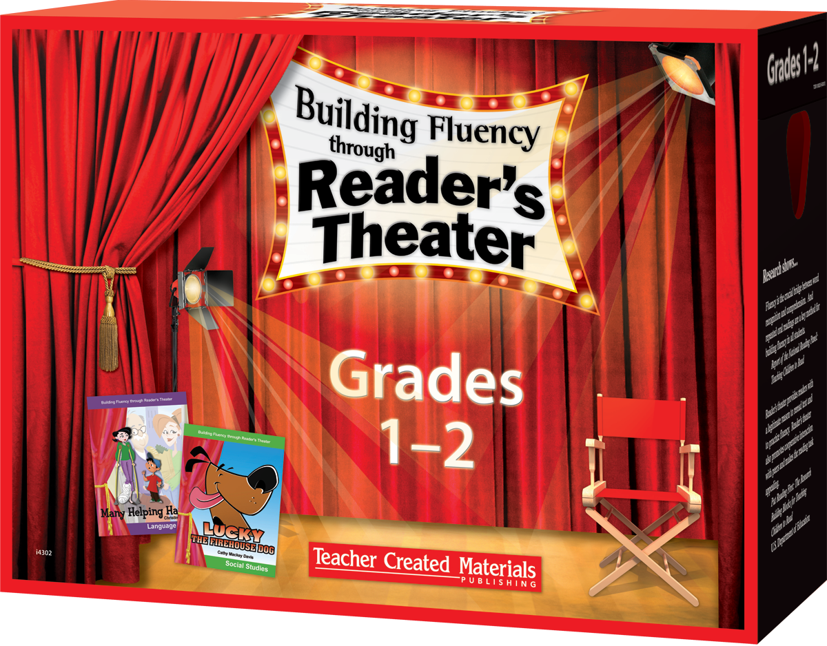 building fluency through reader u0026 39 s theater  grades 1