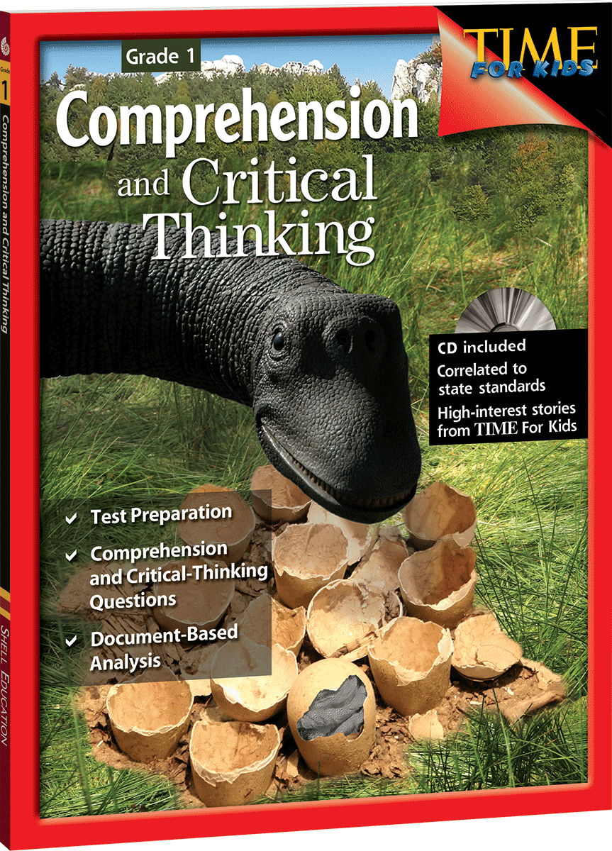 critical thinking questions for reading comprehension You expect that comprehension, and critical thinking skills should be very easy, if your child would just listen and pay attention in class you have probably used traditional tutorial services to help fix the problem, but you didn't get the results you wanted.