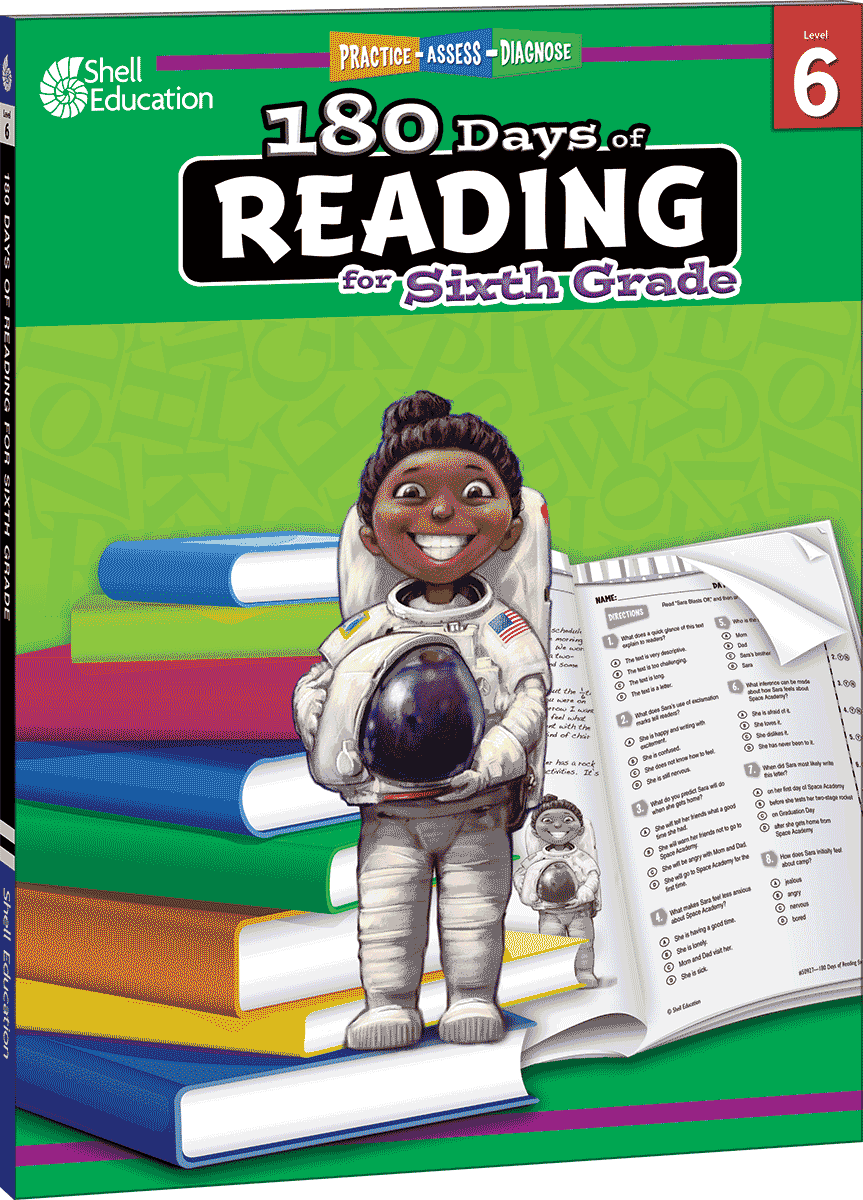 180 Days of Reading for Sixth Grade