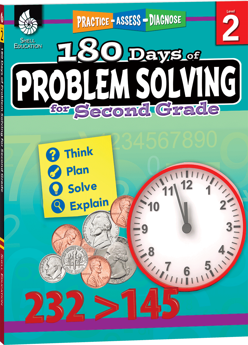 180 days of problem solving for second grade teacher created 180 days of problem solving for second grade teacher created materials fandeluxe Choice Image