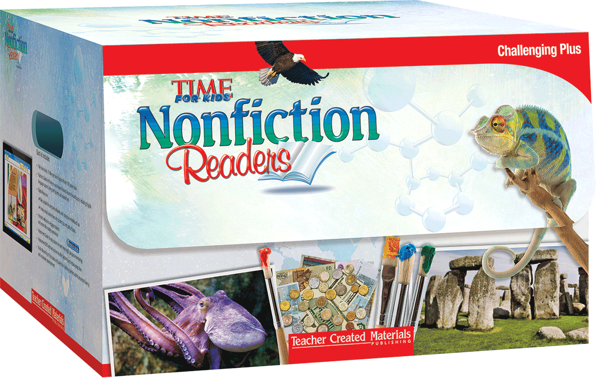 TIME FOR KIDS® Nonfiction Readers: Challenging Plus Kit | Teacher Created  Materials