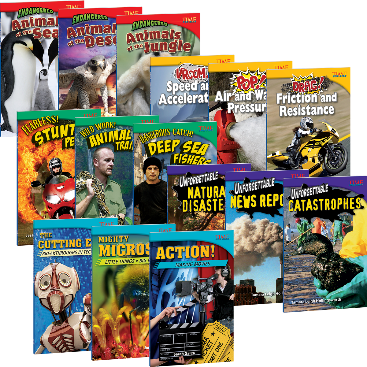 TIME FOR KIDS® Nonfiction Readers: Challenging Plus Add-on Pack | Teacher  Created Materials