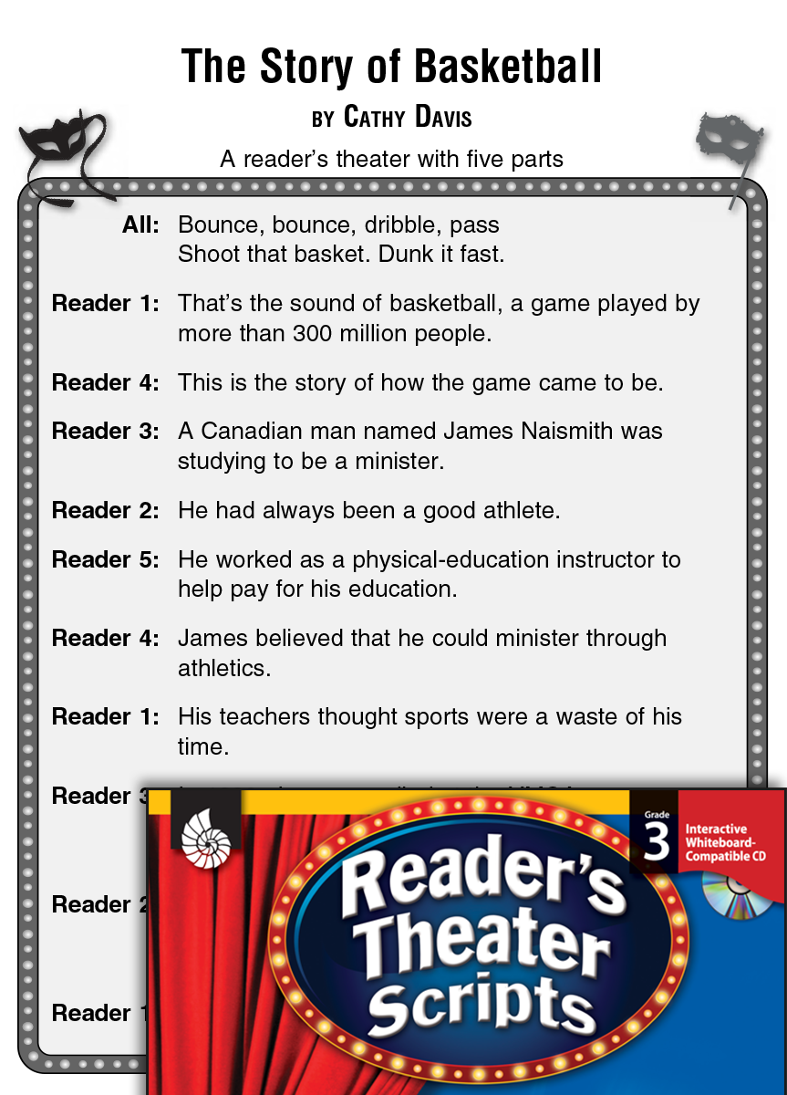The Story of Basketball: Reader's Theater Script and Lesson
