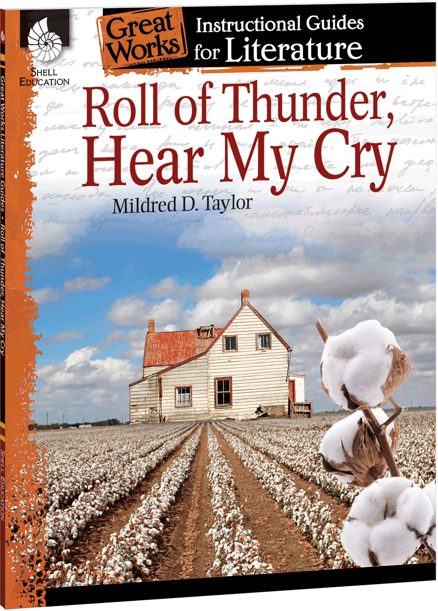 roll of thunder  hear my cry  an instructional guide for