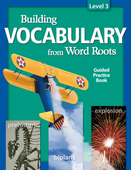 Building vocabulary student guided practice book level 3 for Construction vocabulary