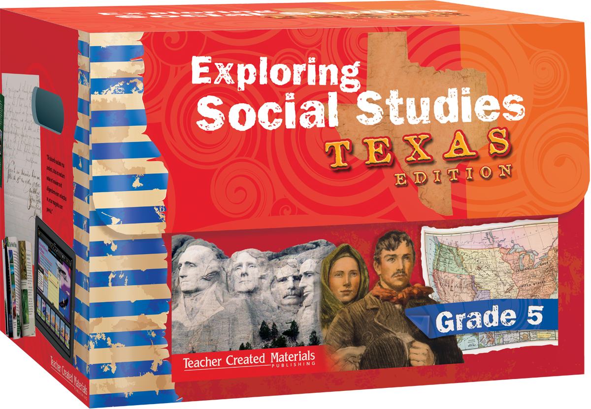 Exploring Social Studies Texas Edition Grade 5 Bundle Teacher