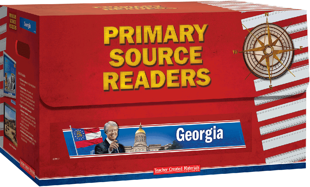 Primary source readers georgia kit teacher created materials fandeluxe Choice Image