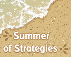 Summer of Strategies: Supporting Texts with Augmented and Virtual Reality