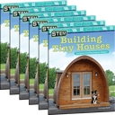 STEM: Building Tiny Houses: Compose and Decompose Shapes 6-Pack