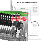 You Can Too! Civil Rights Champions CART 6-Pack