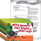 Why Anansi Has Eight Thin Legs: A Tale from West Africa 6-Pack