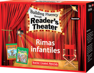 Building Fluency through Reader's Theater: Rimas infantiles (Nursery Rhymes) Kit (Spanish Version)