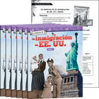 La historia de la inmigración de EE. UU.: Datos (The History of U.S. Immigration: Data) 6-Pack
