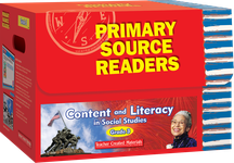 Primary Source Readers Content and Literacy: Grade 3 Kit