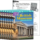 Arte y cultura: El British Museum: Clasificar, ordenar y dibujar figuras (Art and Culture: The British Museum: Classify, Sort and Draw Shapes) 6-Pack
