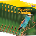 Pjaros e insectos (Birds and Bugs) 6-Pack