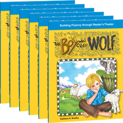 Reader's Theater: Fables: The Boy Who Cried Wolf 6-Pack with Audio