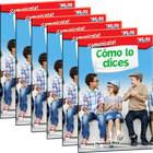 ¡Comunícate! Cómo lo dices (Communicate! How You Say It) 6-Pack
