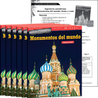 Ingeniería asombrosa: Monumentos del mundo: Suma y resta (Engineering Marvels: World Landmarks: Addition and Subtraction) 6-Pack