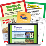 TCM Leveled Texts, K-2 (Spanish)