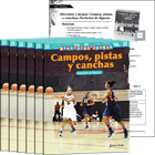 Diversión y juegos: Campos, pistas y canchas: Partición de figuras (Fun and Games: Fields, Rinks, and Courts: Partitioning Shapes) 6-Pack