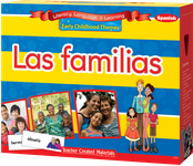 Early Childhood Themes: Las familias (Families) Kit (Spanish Version)