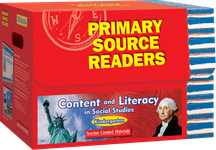 Primary Source Readers Content and Literacy: Kindergarten Kit