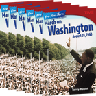 You Are There! March on Washington, August 28, 1963 6-Pack
