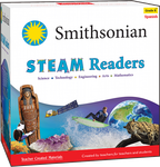 Smithsonian STEAM Readers: Kindergarten  (Spanish)