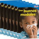 Usar buenos modales (Using Good Manners) 6-Pack