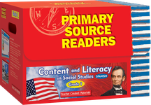 Primary Source Readers Content and Literacy: Grade 1 Kit (Spanish Version)