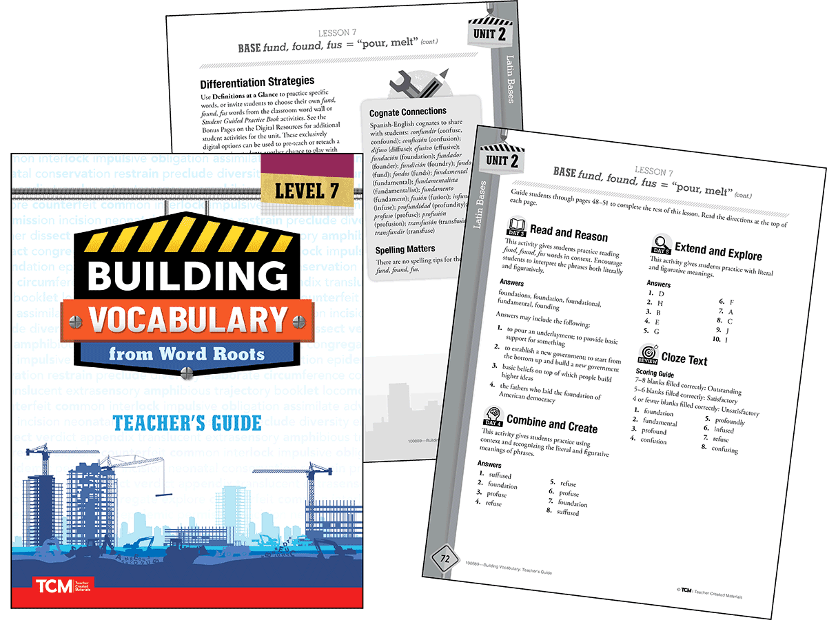 Building Vocabulary 2nd Edition: Level 7 Kit
