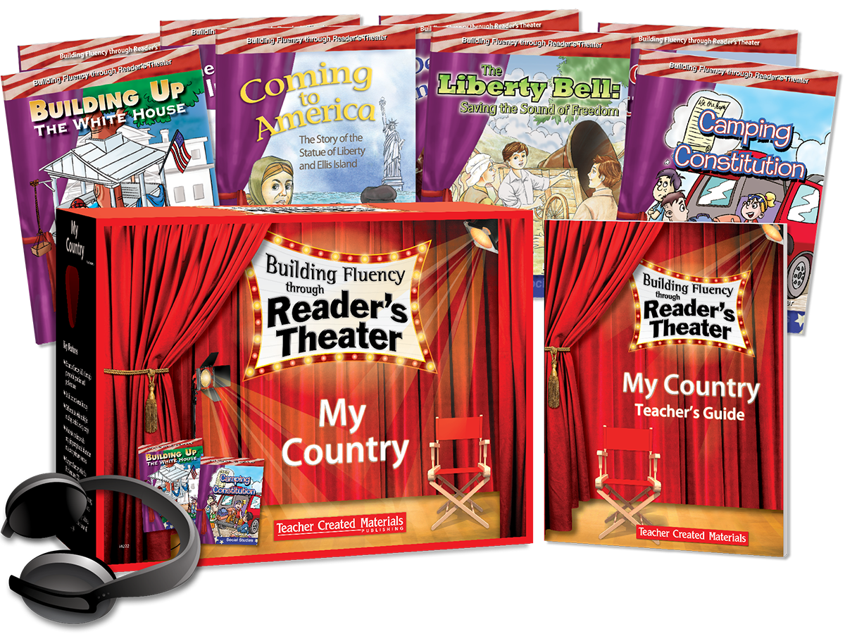 Building Fluency through Reader's Theater: My Country Kit