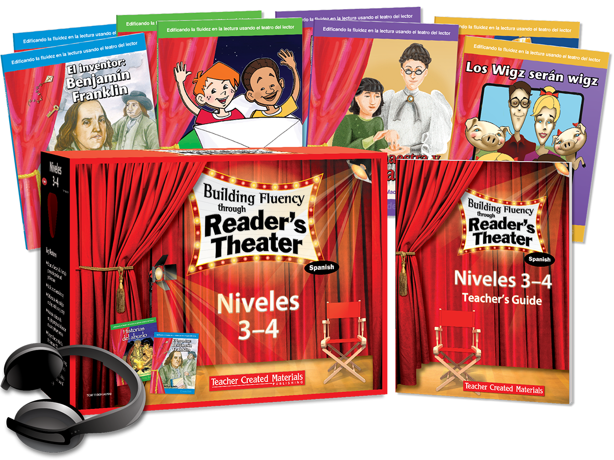 Building Fluency through Reader's Theater: Niveles 3-4 (Grades 3-4) Kit (Spanish Version)