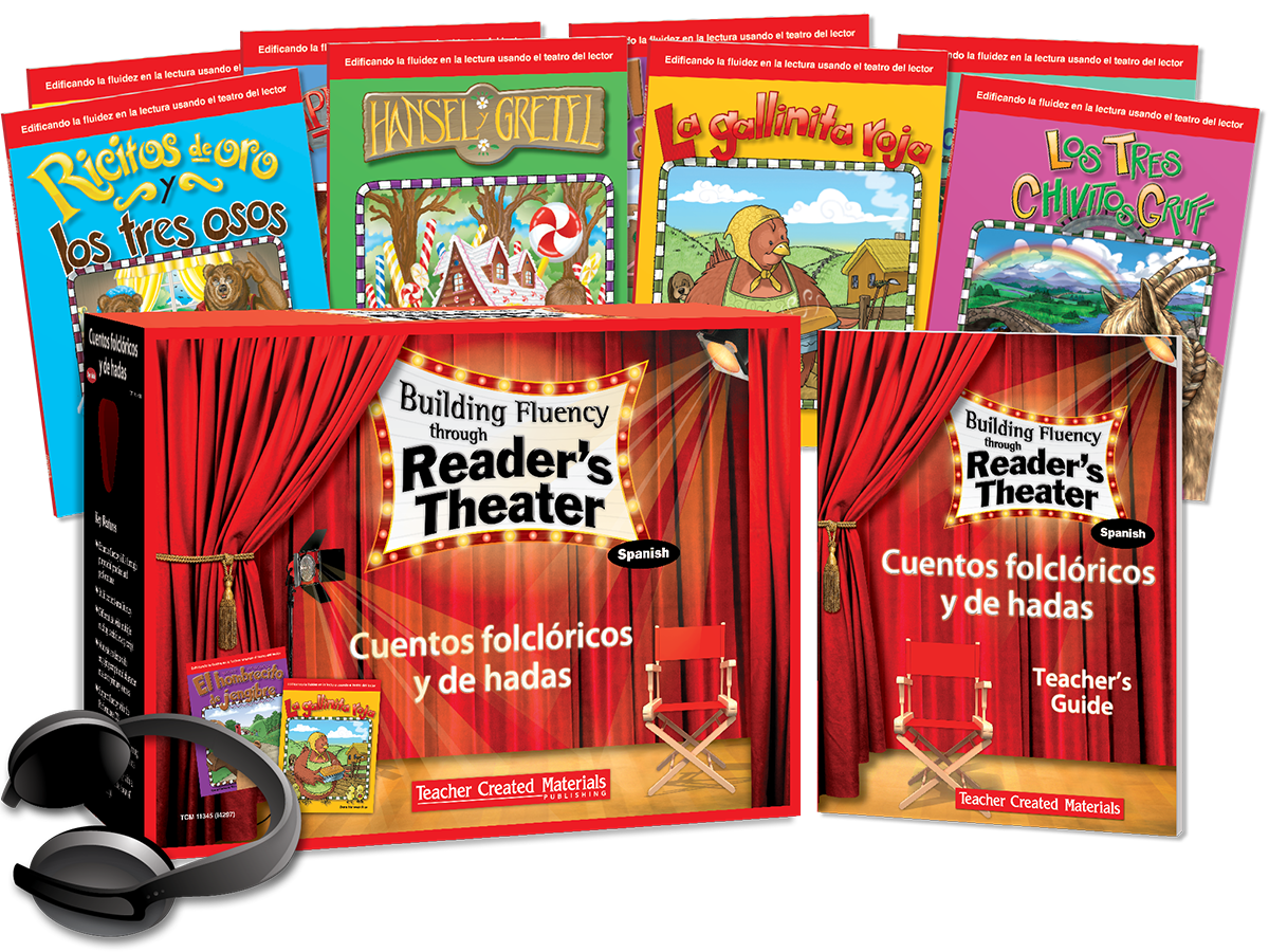 Building Fluency through Reader's Theater: Cuentos folclricos y de hadas (Folk and Fairy Tales) Kit (Spanish Version)