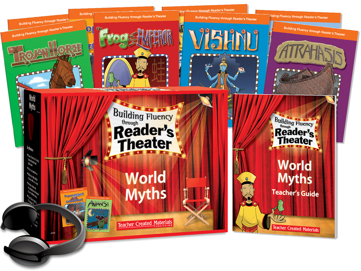 Building Fluency through Reader's Theater: World Myths Kit
