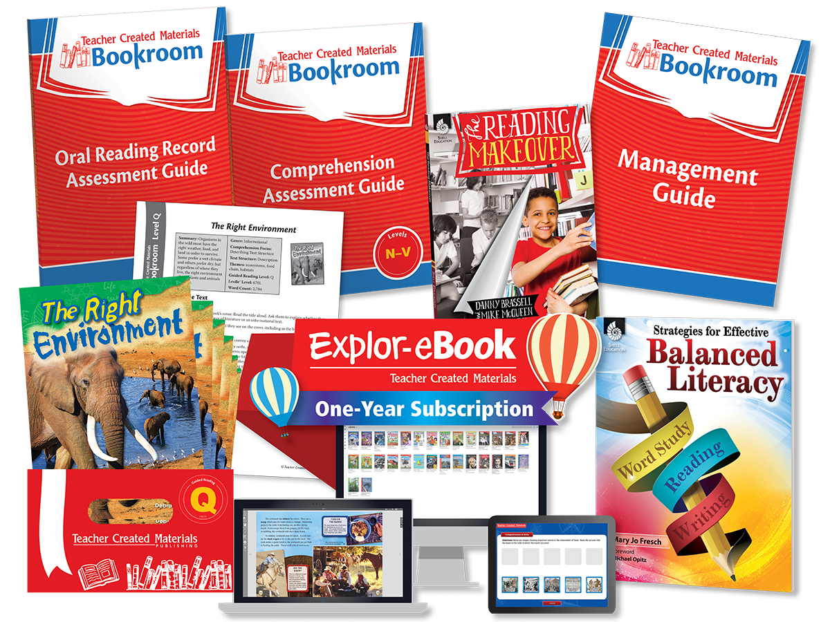 Teacher Created Materials Bookroom 3-5