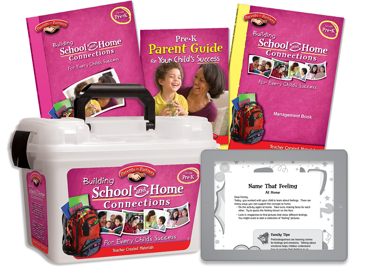 Building School and Home Connections: Grade PreK Kit