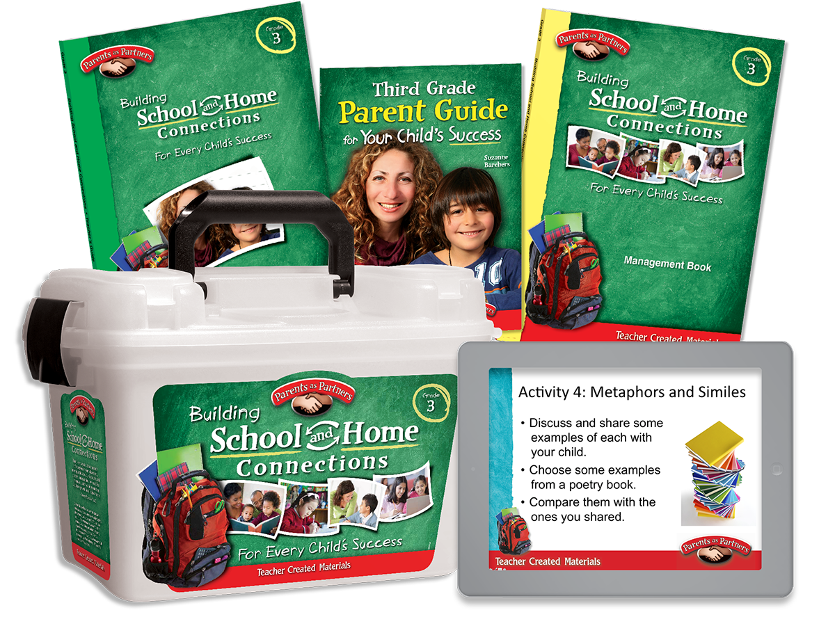 Building School and Home Connections: Grade 3 Kit
