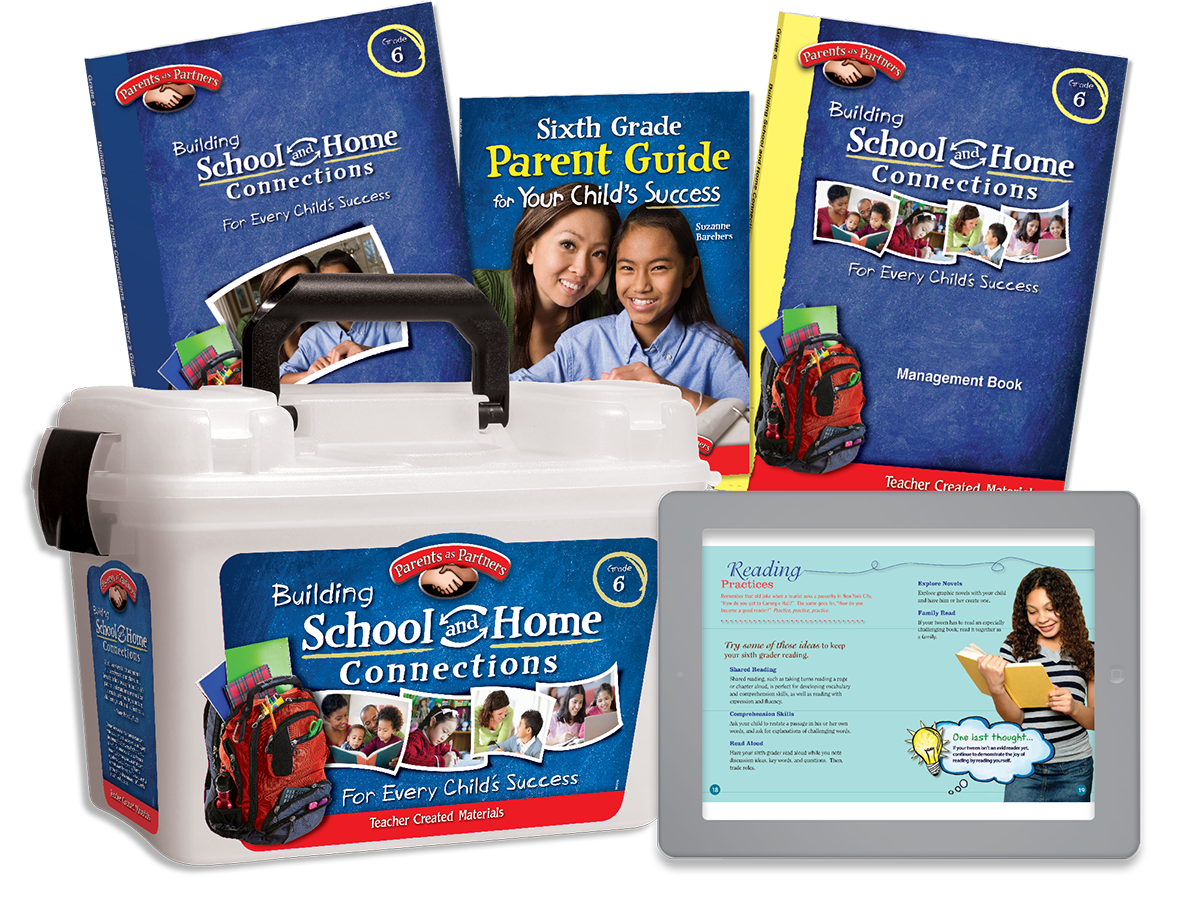 Building School and Home Connections: Grade 6 Kit