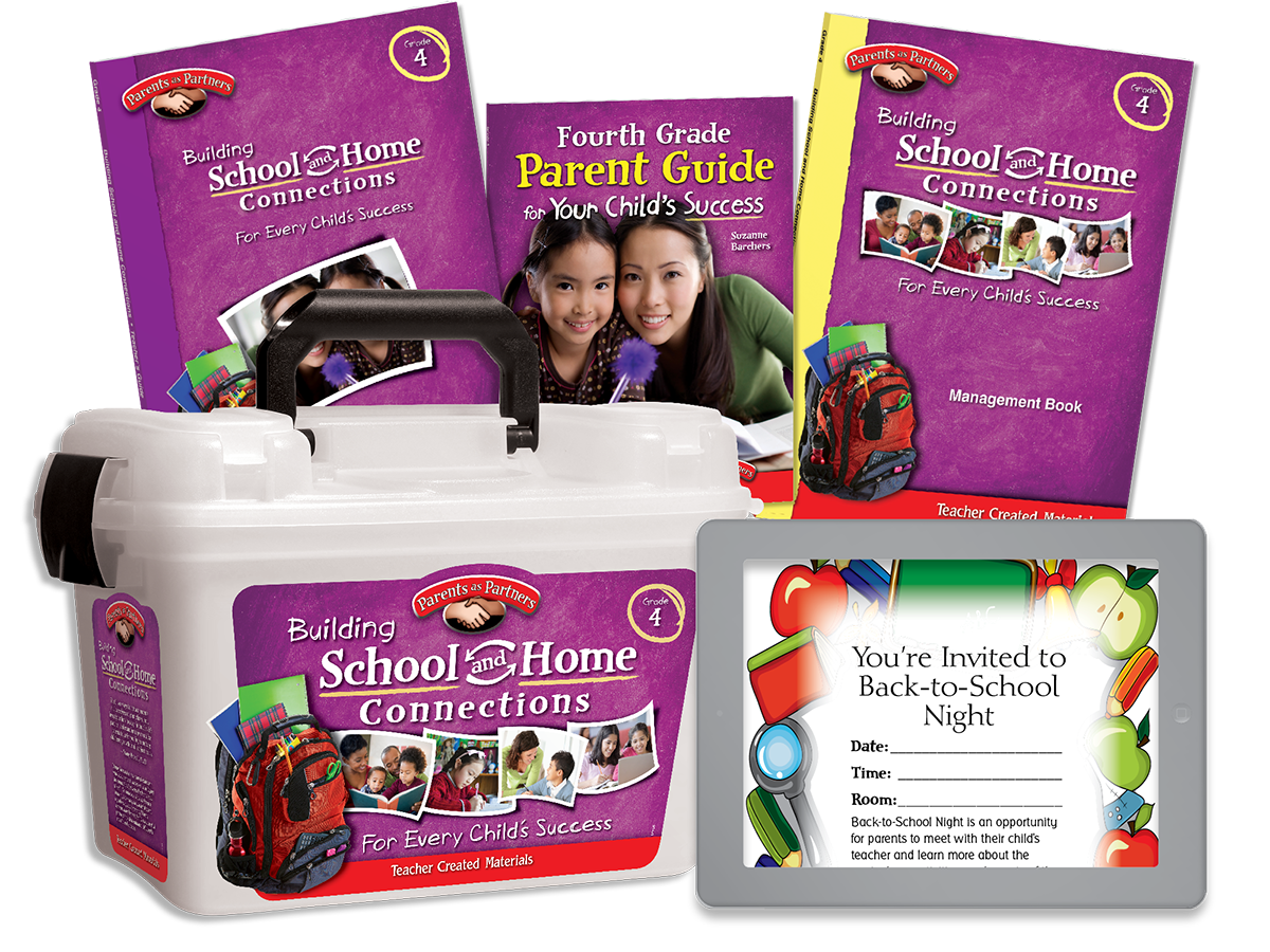 Building School and Home Connections: Grade 4 Kit