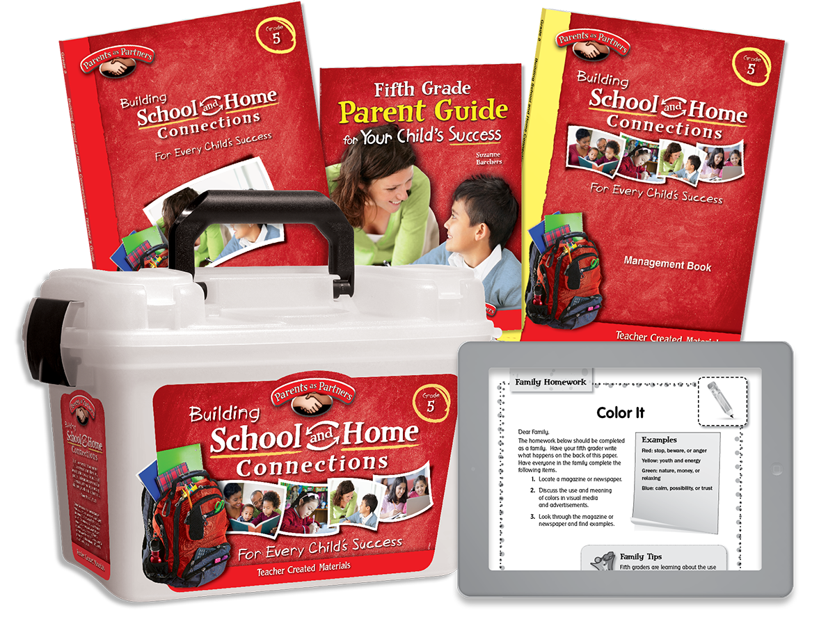 Building School and Home Connections: Grade 5 Kit