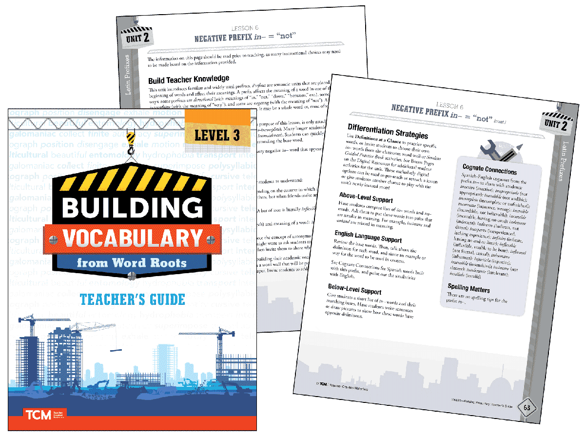 Building Vocabulary 2nd Edition: Level 3 Kit