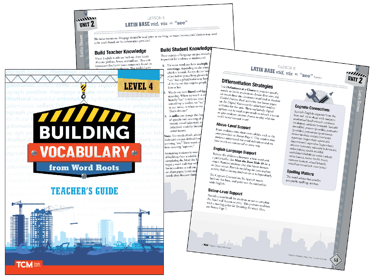 Building Vocabulary 2nd Edition: Level 4 Kit