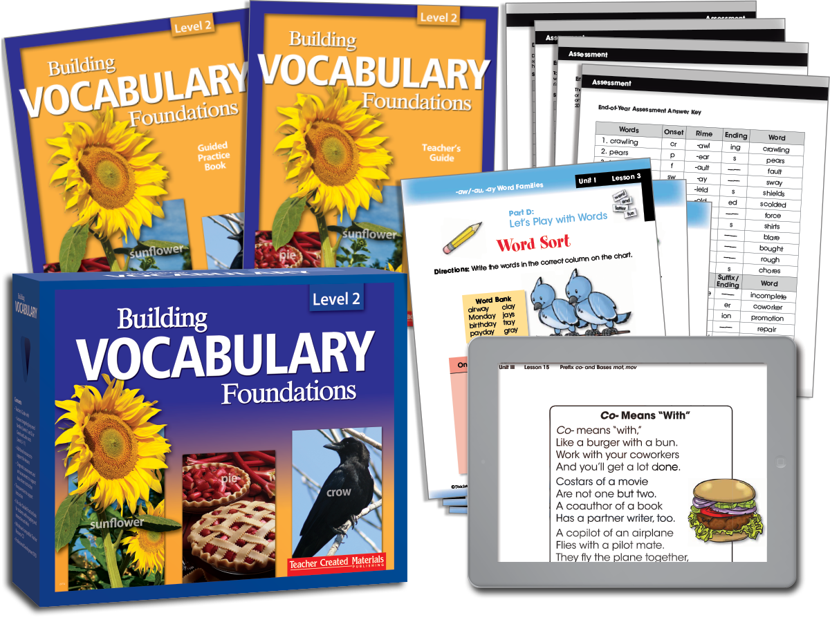 Building Vocabulary: Level 2 Kit