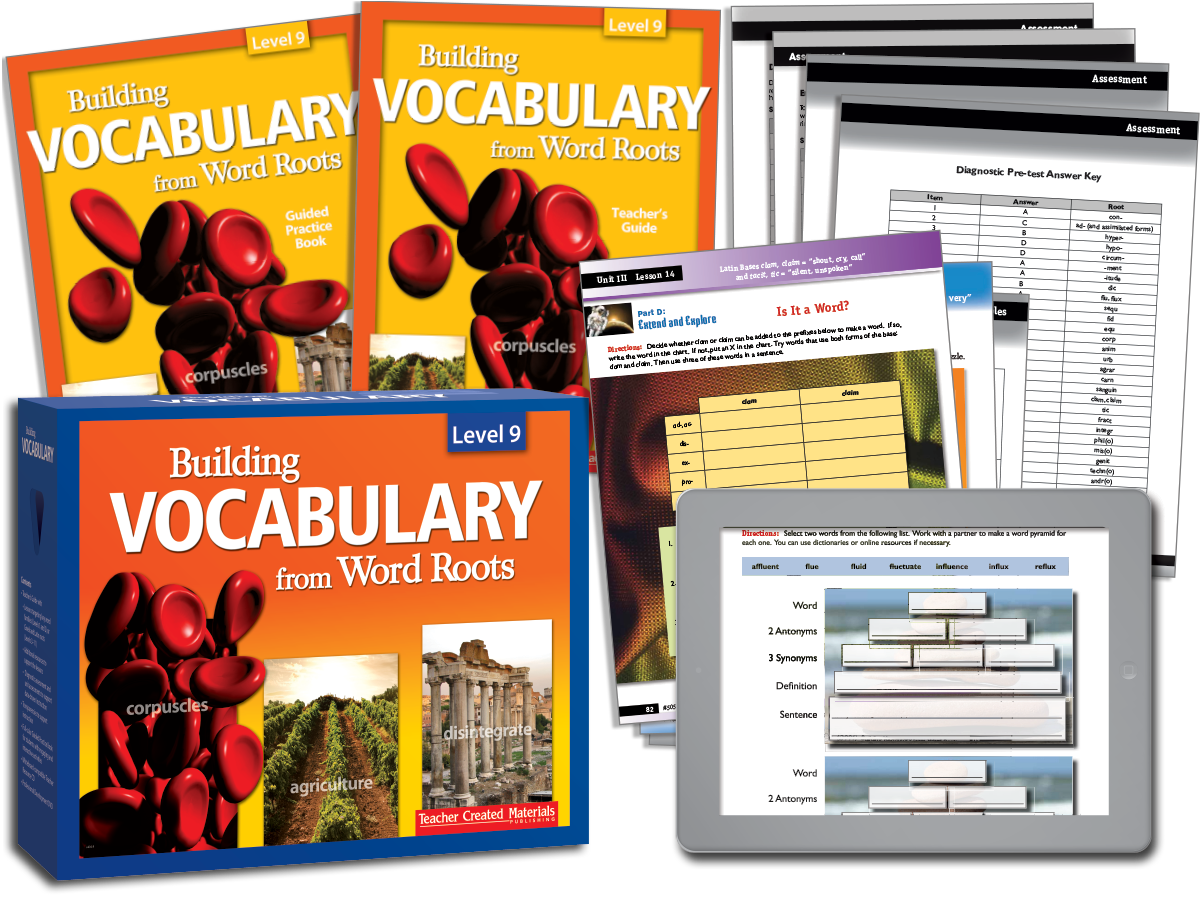 Building Vocabulary: Level 9 Kit