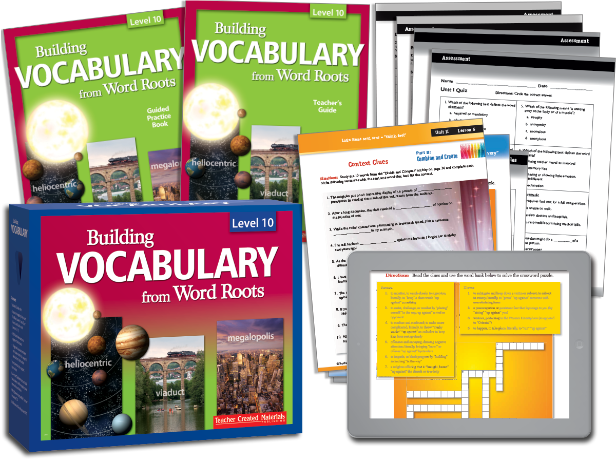 Building Vocabulary: Level 10 Kit