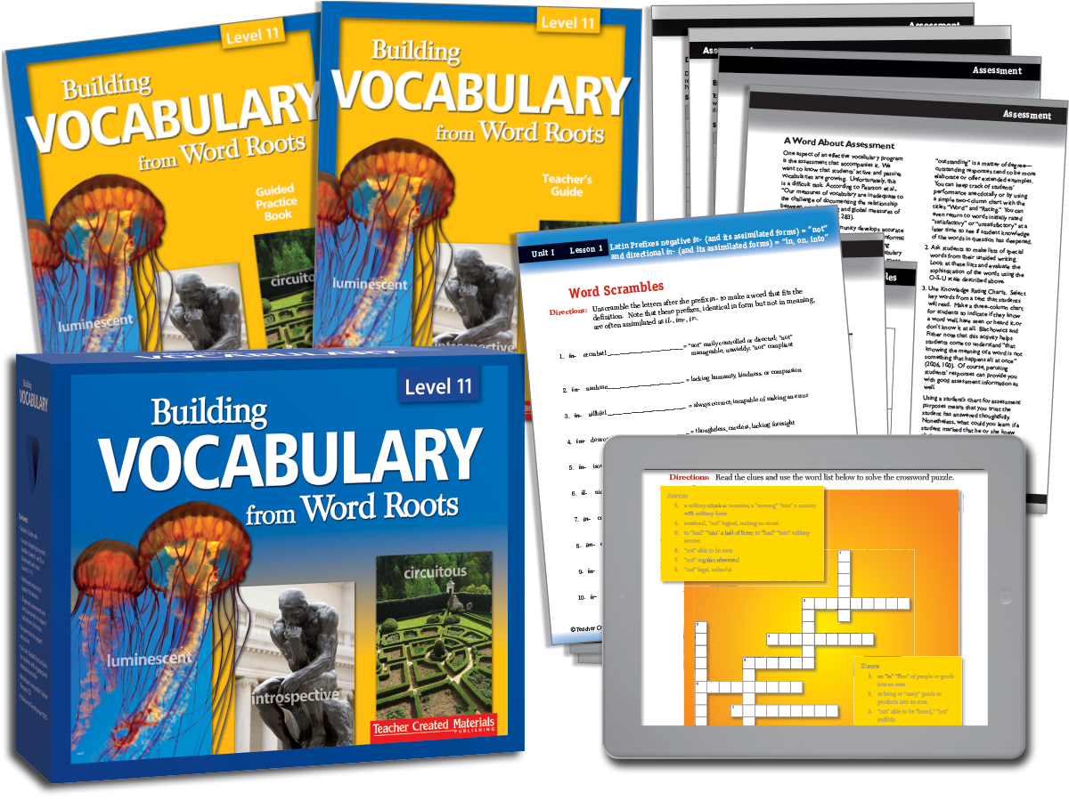 Building Vocabulary: Level 11 Kit