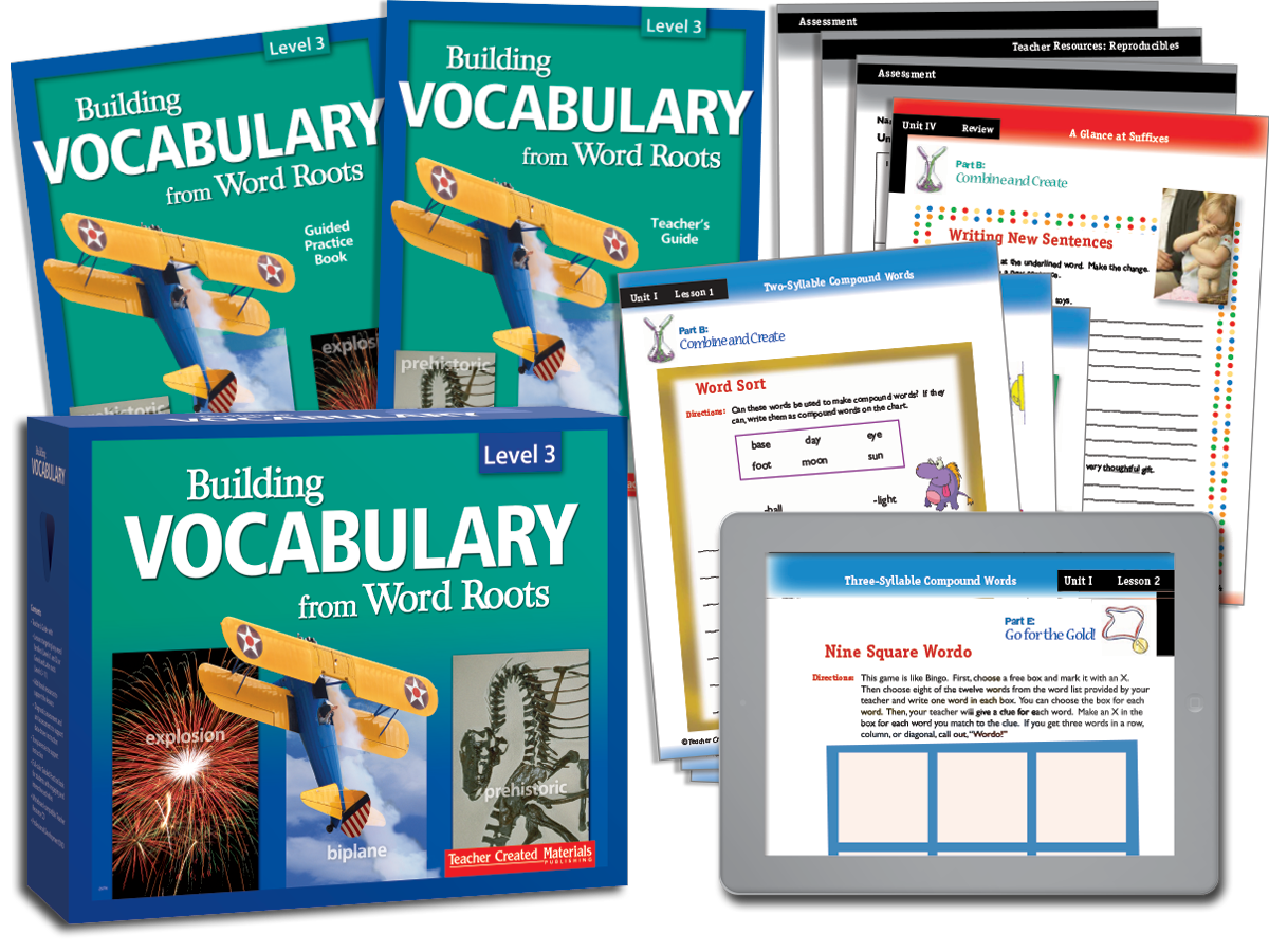 Building Vocabulary: Level 3 Kit