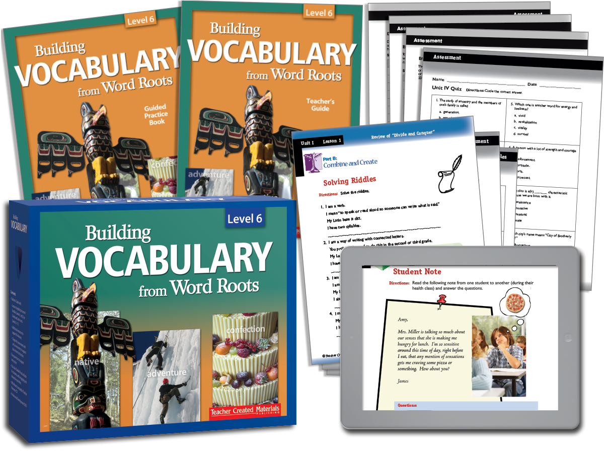 Building Vocabulary: Level 6 Kit